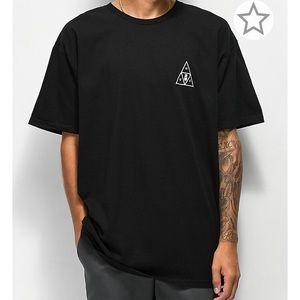 HUF Memorial Triangle Black Shirt